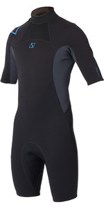 2020 Magic Marine Mens Brand 3/2mm Shorty Wetsuit Black / Blue 160025