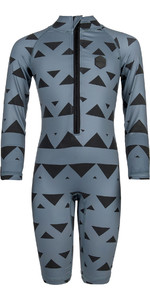 2019 Mystic Star Toddler Rash Suit Pewter 160245