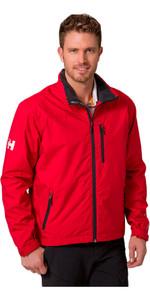 Helly Hansen Crew Midlayer Jacket Red 30253