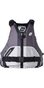 2019 Magic Marine Wave Front Zip Buoyancy Aid Light Grey 170074