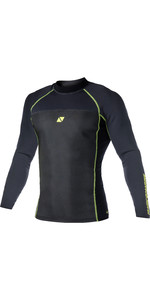 2020 Magic Marine Mens Ultimate L / S 1.5mm Neoprene Top Black 170079