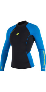 2019 Magic Marine Womens Ultimate Long Sleeve 3mm Neoprene Top Blue 170081
