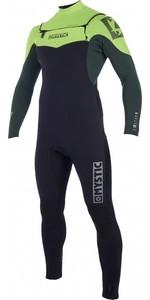 2019 Mystic Star 5/4mm Double Front Zip Wetsuit Teal 180016