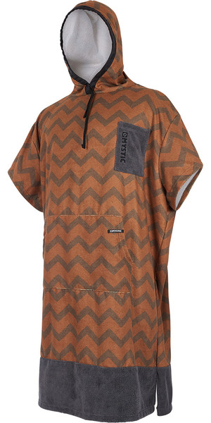 2018 Mystic Allover Poncho Seal Brown 180032