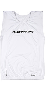 2020 Magic Marine Junior Brand Sleeveless Overtop White 180045