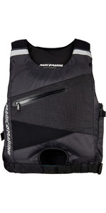 2019 Magic Marine Racing Side Zip Buoyancy Aid Black 180054