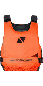 2019 Magic Marine Ultimate Side Zip Buoyancy Aid Orange 180055