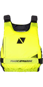 2019 Magic Marine Ultimate Side Zip Buoyancy Aid Flash Yellow 180055