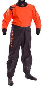 2019 Typhoon Junior Rookie Drysuit Black / Orange 100171