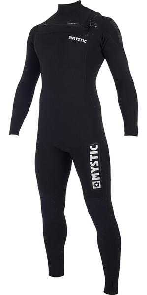 2019 Mystic Majestic Chest Zip Wetsuit 5/3mm Black 190000
