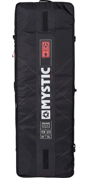 2019 Mystic Gearbox Square Board Bag 1.65M Black 190057