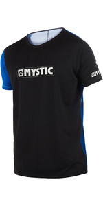 2019 Mystic Drip Mens Short Sleeve Loosefit Quick Dry Rash Vest Blue 190094