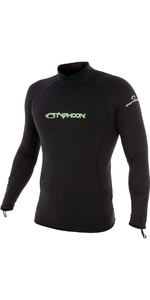 2019 Typhoon ThermaFleece Long Sleeve in Black 200300