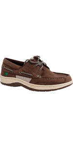 2019 Gul Falmouth Leather Deck Shoe TAN DS1002