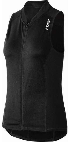 2XU Ladies Active Mutli Sport Tri Singlet Black WT3643a