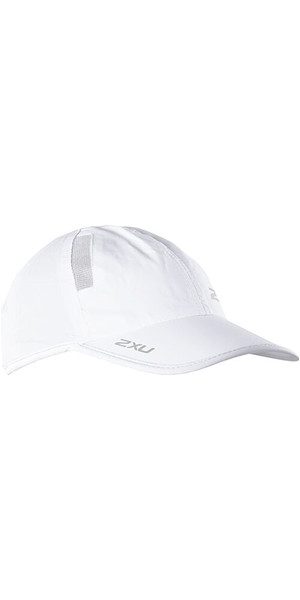2018 2XU Run Cap White UR1188F