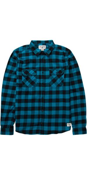 Billabong All Day Flannel Shirt OCEAN Z1SH04