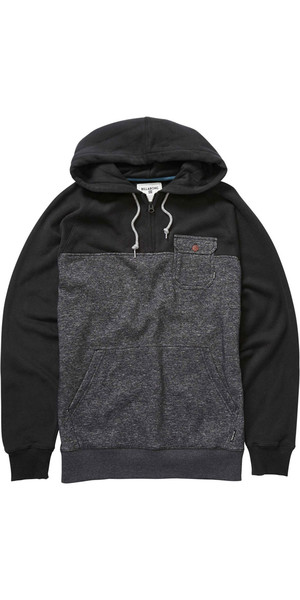 Billabong Balance Half Zip Hoody BLACK HEATHER Z1FL08