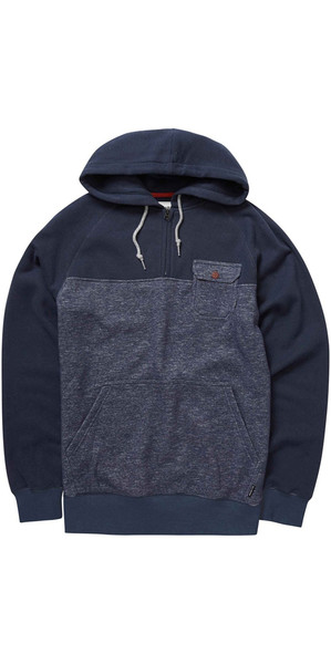 Billabong Balance Half Zip Hoody NAVY HEATHER Z1FL08