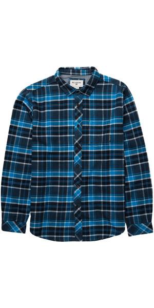 Billabong Henderson Long Sleeve Shirt INDIGO Z1SH07