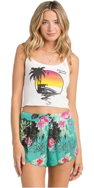 Billabong Ladies Beyond Sunrise Shorts Crinkle - JADE W3WK04