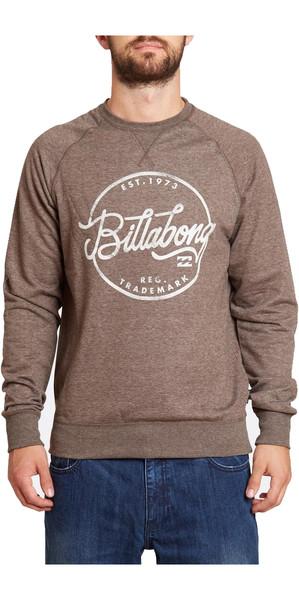 Billabong Sloop Crewneck Sweatshirt CHOCOLATE Z1CR01