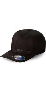 Dakine Silicone Rail Flexfit Cap in Black 08640040