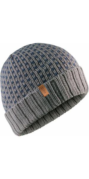 2018 Gill Jacquard Knit Beanie ASH HT39