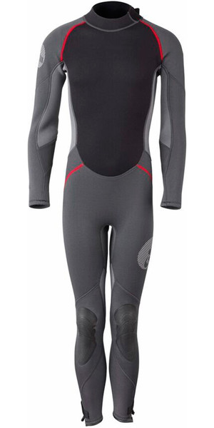 2018 Gill Junior 3/2mm Back Zip Wetsuit Graphite / Ash 4605J