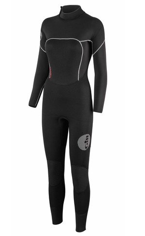 2018 Gill Ladies Thermoskin 5/3mm GBS Dinghy Wetsuit in Black 4609W