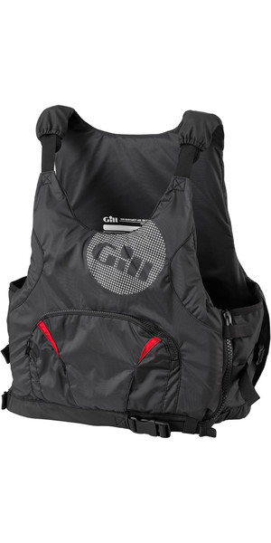 2018 Gill Pro Racer Mens 50N Buoyancy Aid Black 4916