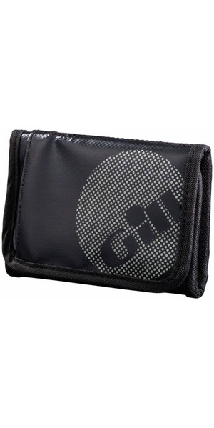 2018 Gill Trifold Wallet JET Black L068 -  New Style
