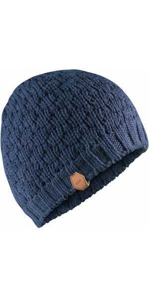 606717cde47 ... Waterproof Bobble Hat ... high fashion c7a04 a55d2  2018 Gill Waffle  Knit Beanie NAVY HT38 Gill best sale a209b 5f2ba ...