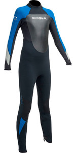 2020 Gul Response 5/3mm Junior Wetsuit Black / Blue RE1218-B1