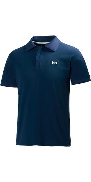 2018 Helly Hansen Driftline Polo Shirt Navy 50584