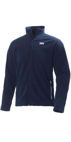 Helly Hansen Mens Daybreak Fleece Jacket Evening Blue / White 51598