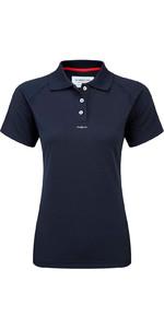 Henri Lloyd Womens Fast Dry Polo T-Shirt in MARINE Y30279