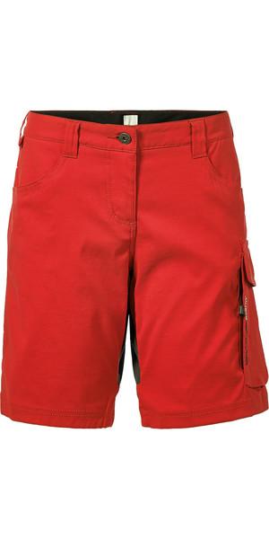 Musto Evolution Womens Performance UV Shorts True Red SE0930