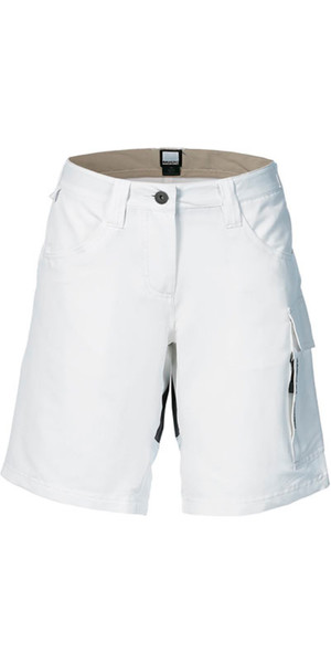 Musto Evolution Womens Performance UV Shorts White SE0930