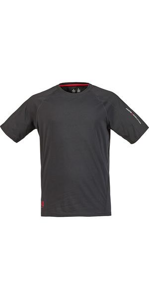 Musto Evolution Logo Short Sleeve Tee in CARBON SE1361