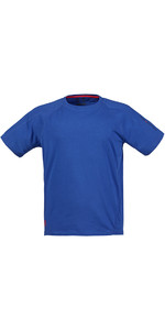 Musto Evolution Logo Short Sleeve Tee in SURF BLUE SE1361