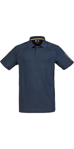 Musto Evolution Sunblock Short Sleeved Polo Top TRUE NAVY SE0264