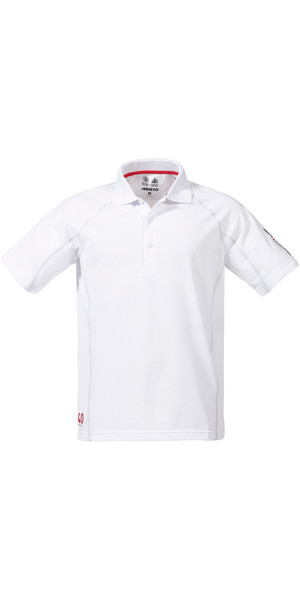 Musto Evolution Sunblock Short Sleeved Polo Top WHITE SE0264