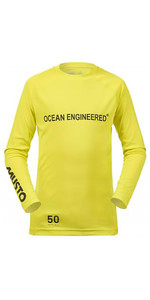 Musto Junior Insignia Dinghy Long Sleeve T-Shirt SULPHUR SPRING KS007J0