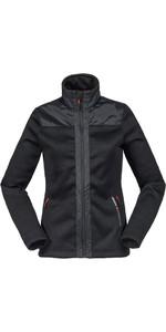 Musto Womens Bruma Funnel Fleece Black / Fire Orange SE3530