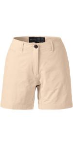 Musto Womens Essential UV Fast Dry 4 Pocket Shorts LIGHT STONE SE2070