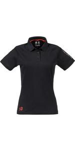 Musto Womens Evolution Sunblock Polo Top BLACK SE0483