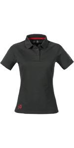 Musto Womens Evolution Sunblock Polo Top CARBON SE0483