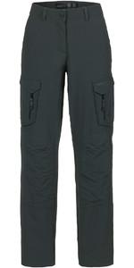 Musto Womens Essential UV Fast Dry Sailing Trousers Carbon LONG LEG (85cm) SE1561