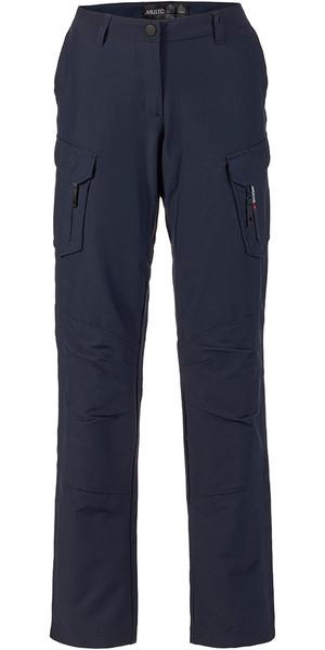 Musto Womens Essential UV Fast Dry Sailing Trousers True Navy REGULAR LEG (79cm) SE1561